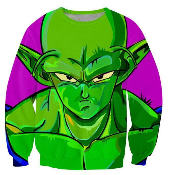 The Mean Green Man King Piccolo Best Dragon Ball Sweatshirt