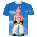Ultimate Kid Buu Dragon Ball Super Sky Blue Premium 3D Shirt - Saiyan Stuff