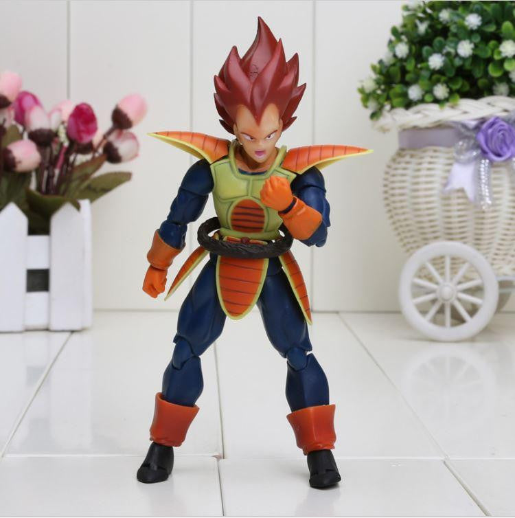 Vegeta Red Hair Battle Molding Movable Articulated Action Figure - Saiyan Stuff - 1