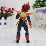 Vegeta Red Hair Battle Molding Movable Articulated Action Figure - Saiyan Stuff - 3