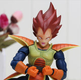 Vegeta Red Hair Battle Molding Movable Articulated Action Figure - Saiyan Stuff - 4