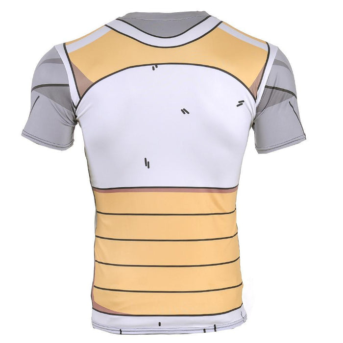 Vegeta Resurrection F Armor Whis Symbol Battle Suit Fitness T-Shirt