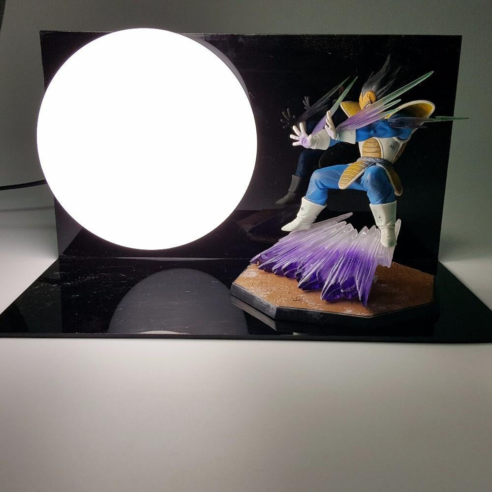 Vegeta Super Galick Gun Garlic Cannon Attack Full Force Impact Lamp - Saiyan Stuff - 1