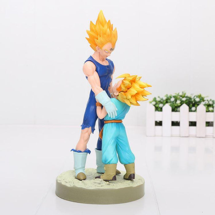 Vegeta Trunks Dramatic Showcase Father Son Action Figure 21cm - Saiyan Stuff - 1