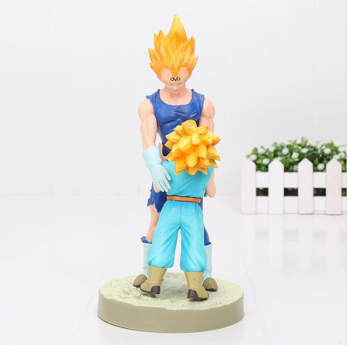Vegeta Trunks Dramatic Showcase Father Son Action Figure 21cm - Saiyan Stuff - 2