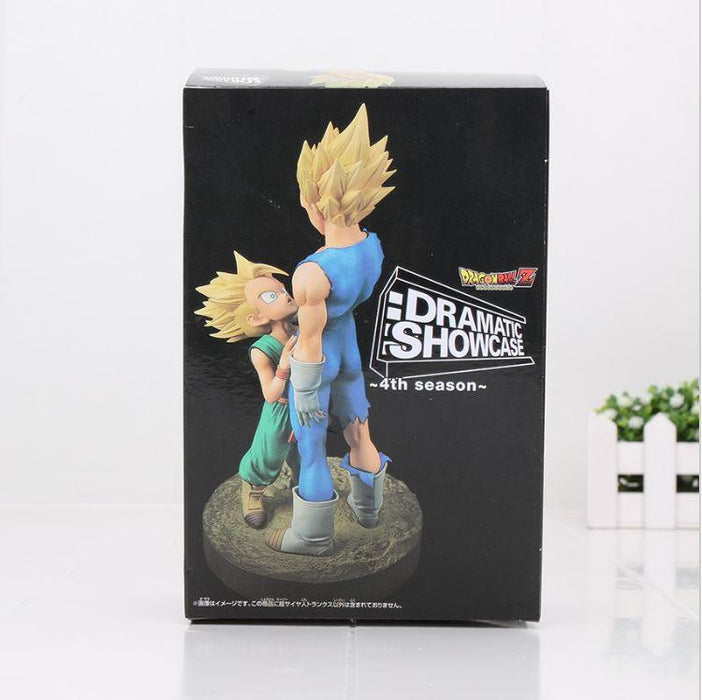 Vegeta Trunks Dramatic Showcase Father Son Action Figure 21cm - Saiyan Stuff