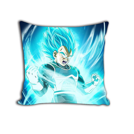 Whis Symbol Super Saiyan Blue Vegeta Aura HD Decorative Throw Pillow