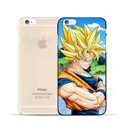 World Martial Arts Tournament Son Goku Hard PC iPhone 5 6 7 s Plus Case