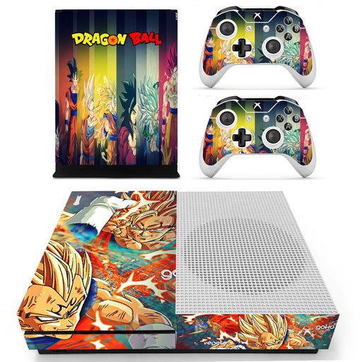 DB Son Goku & Vegeta Super Saiyan Transformation Xbox S Skin