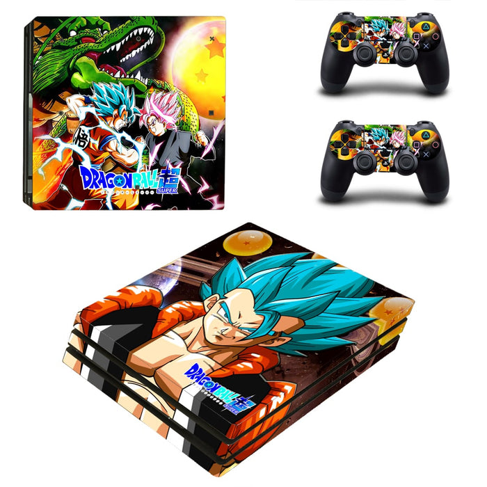 Dragon Ball Blue Son Goku Marvelous Dope PS4 Pro Skin