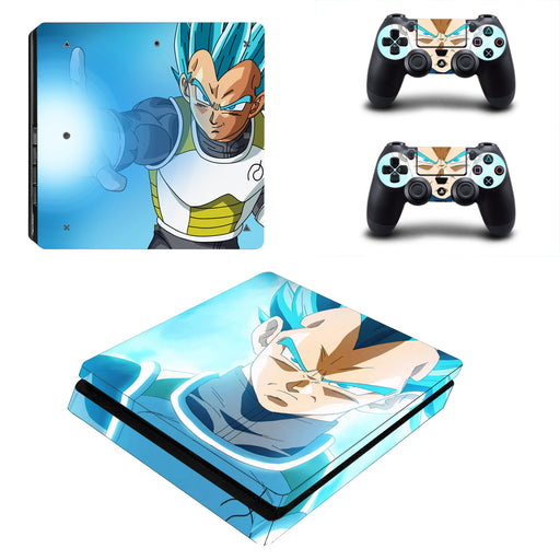 Dragon Ball Vegeta Stunning Cool Kamehameha PS4 Slim Skin