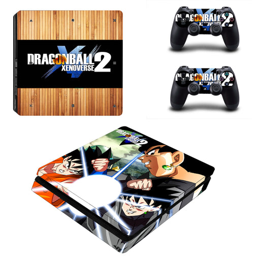 Dragon Ball Son Goku Extraordinary Light Ball PS4 Slim Skin