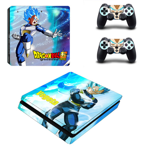 Dragon Ball Vegeta Kick-Ass Powerful Trendy PS4 Slim Skin