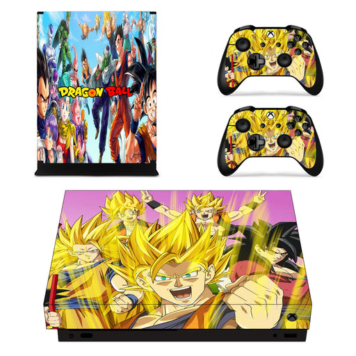 Cheerful Dragon Ball Z Characters Happy Son Goku Xbox X Skin