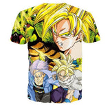 Z-Fighters Goku Trunks Gohan Shenron Dragon Ball T-Shirt - Saiyan Stuff - 2