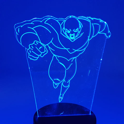 Dragon Ball Super Furious Jiren Color Changing 3D Illusion Acrylic Lamp