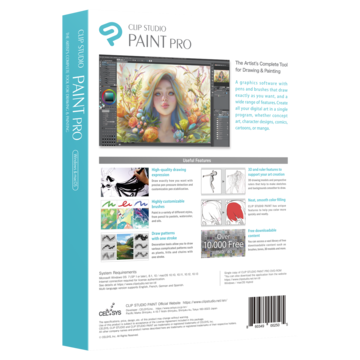 CLIP STUDIO PAINT PRO: Comic and Manga Creation Software