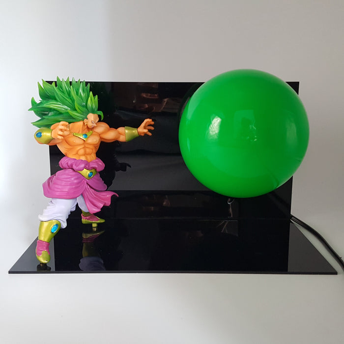 Broly Legendary Super Saiyan Omega Blaster Green DIY 3D Light Lamp