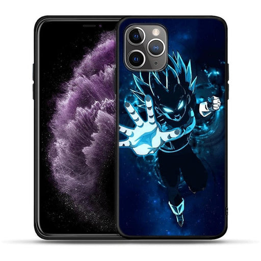 DBZ Vegeta Blue Galaxy Design iPhone 11 (Pro & Pro Max) Case