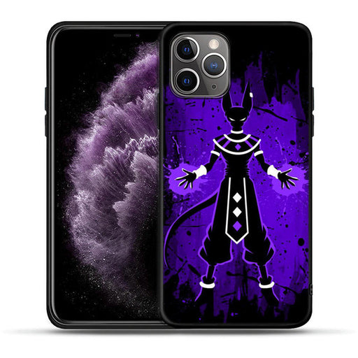 DBZ Lord Beerus Purple iPhone 11 (Pro & Pro Max) Case