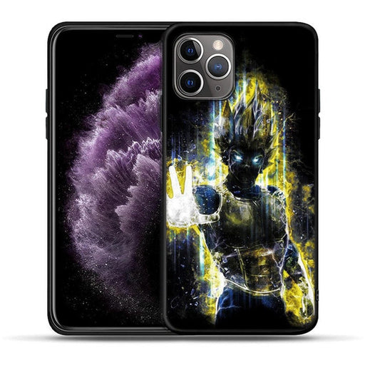 Super Saiyan Vegeta Yellow Aura iPhone 11 (Pro & Pro Max) Case