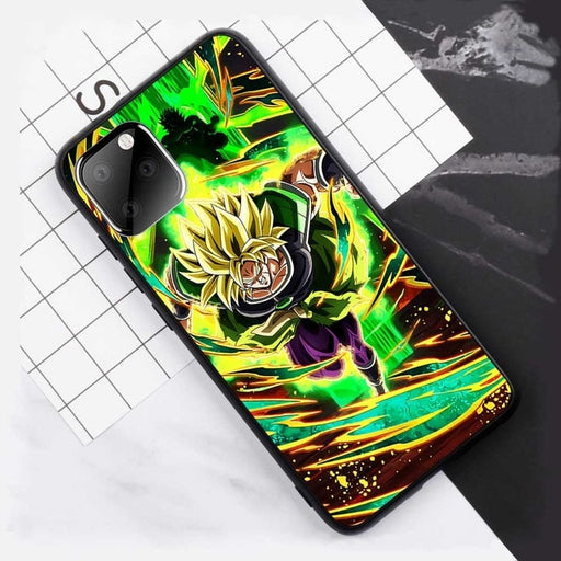 Dragon Ball Super Broly's Wrath iPhone 11 (Pro & Pro Max) Case