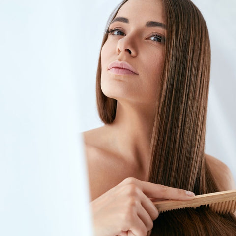 Oil pulling for strong beautiful hair