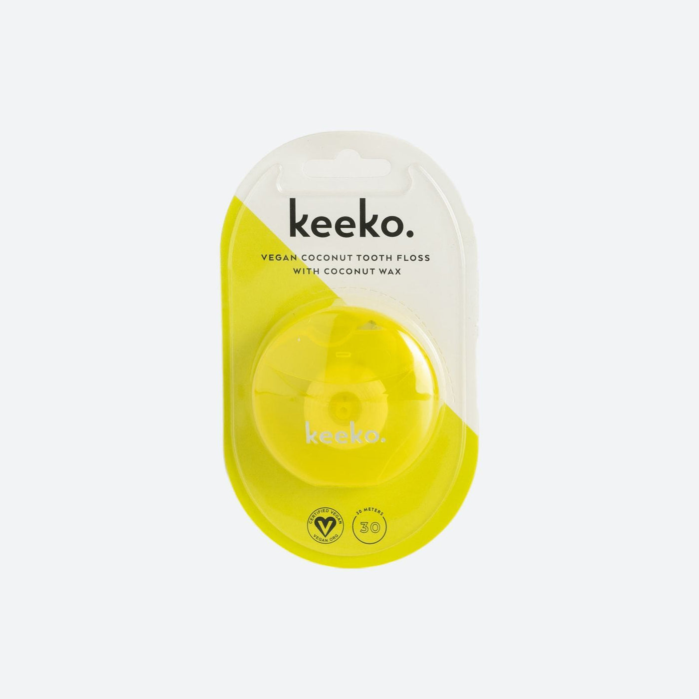 Keeko coconut tooth floss