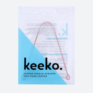 Keeko Copper Tongue Cleaner