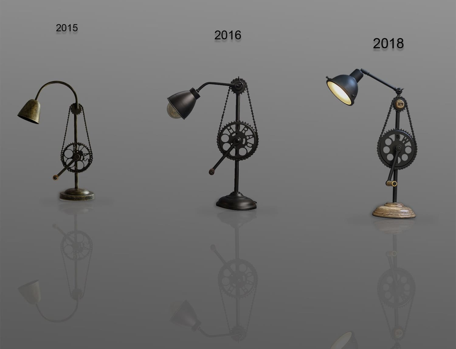 Teleport Yourself To The 19th-Century With  Modern Industrial Lamps.