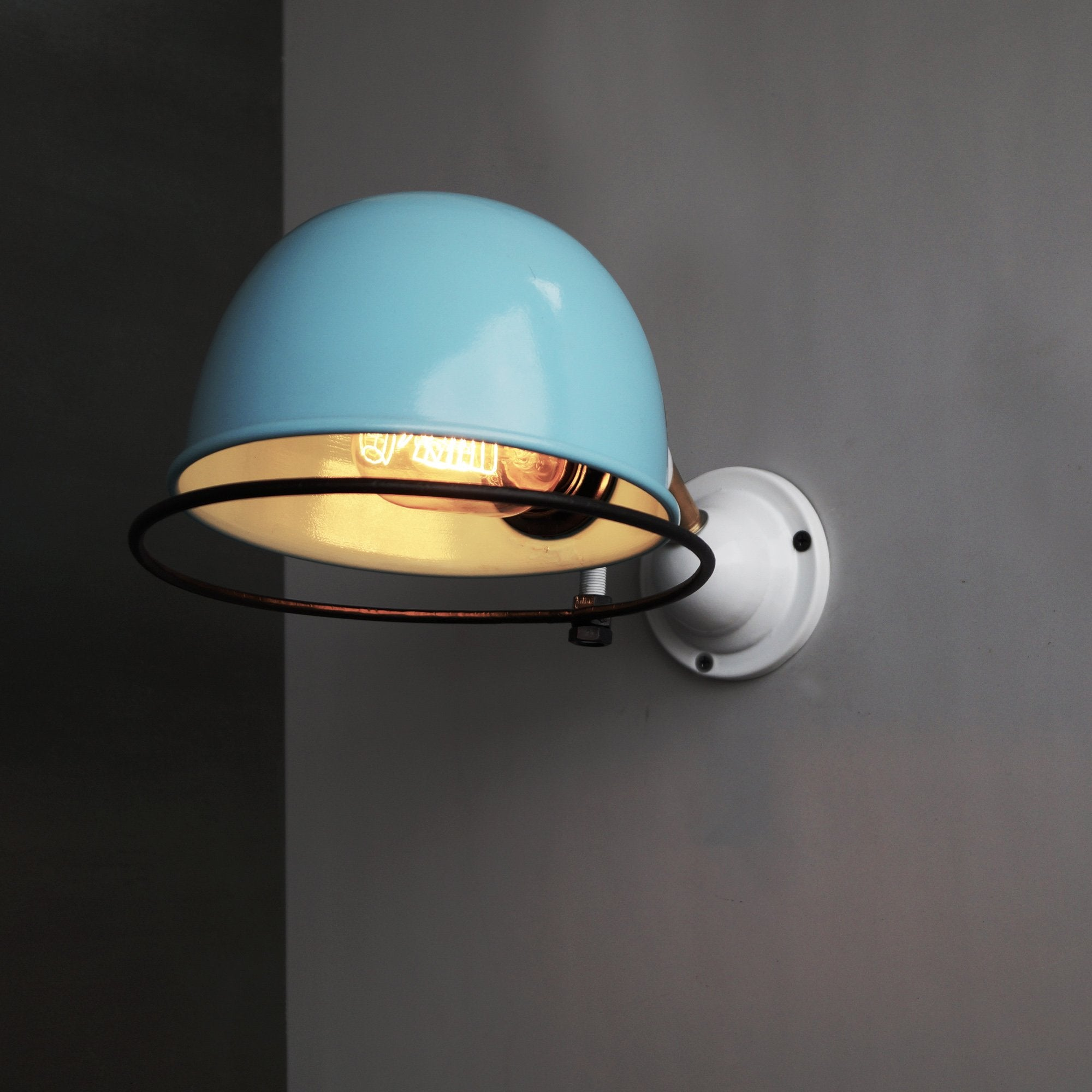 CWS121 Classic Blue De Stijl Inspired Wall Light