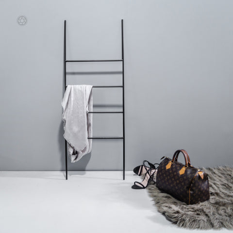 Iron Ladder Home Decor Black Metal - The Black Steel