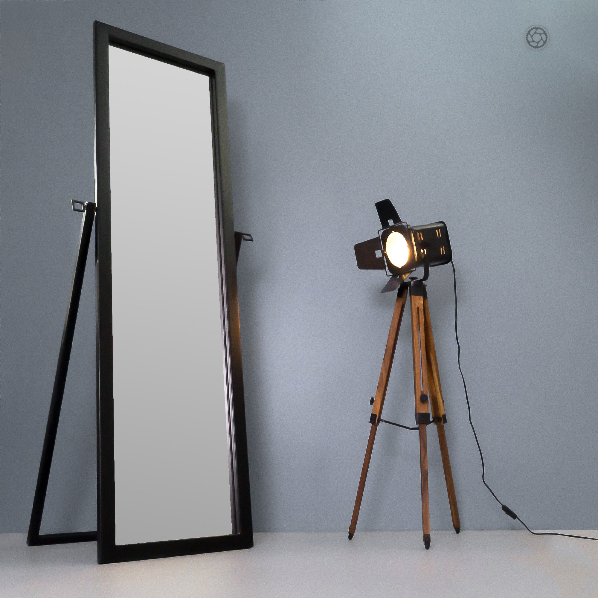 INC3 Tripod Floor Lamp - The Black Steel