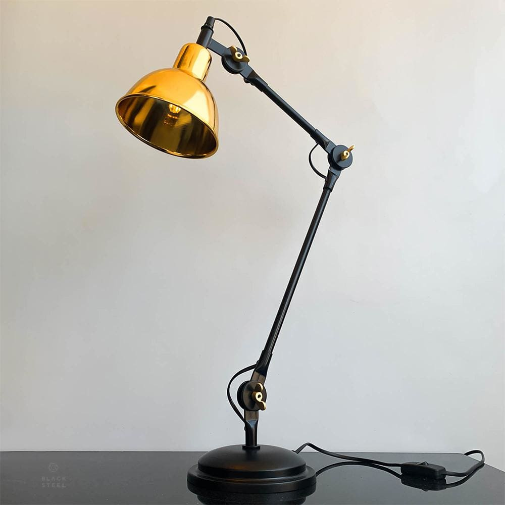 FDL103 Age Of Gold Luxury Desk Lamp