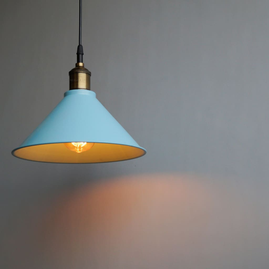 Aqua Blue Pendant Lamp For Modern Interior Architecture and Design