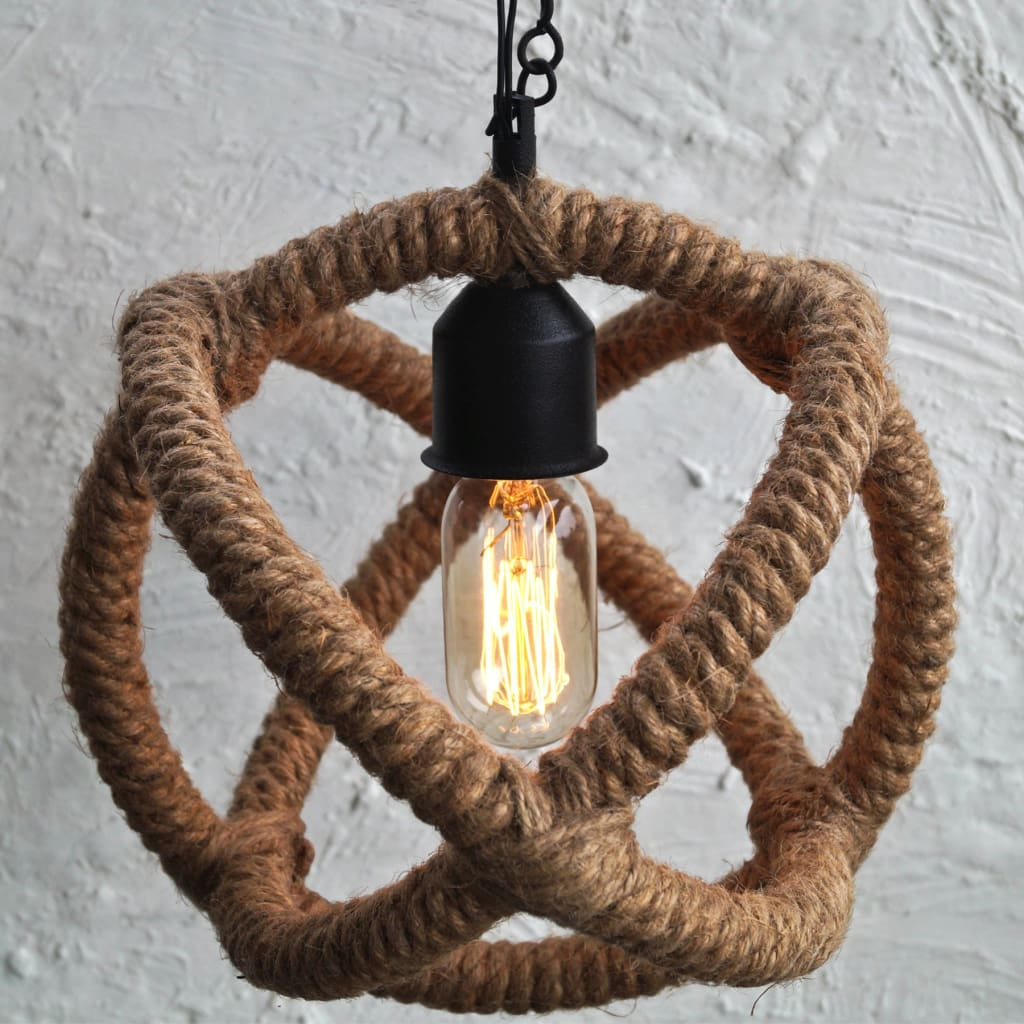 Arbelos Industrial Rope Pendant Light