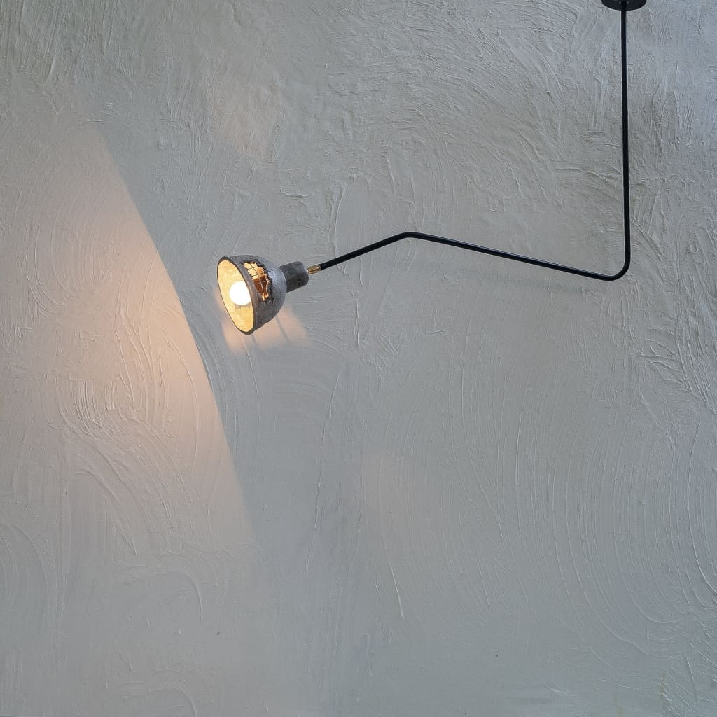 Beale 25Degrees Grey Concrete Lamp