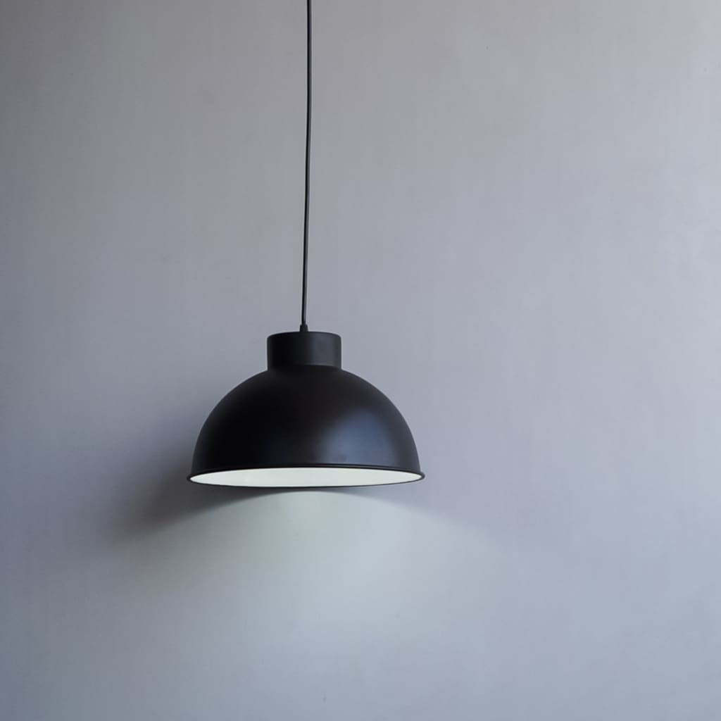 CLH119 Black Bold 12 Inch Minimal Style Mid Century Modern Lamp