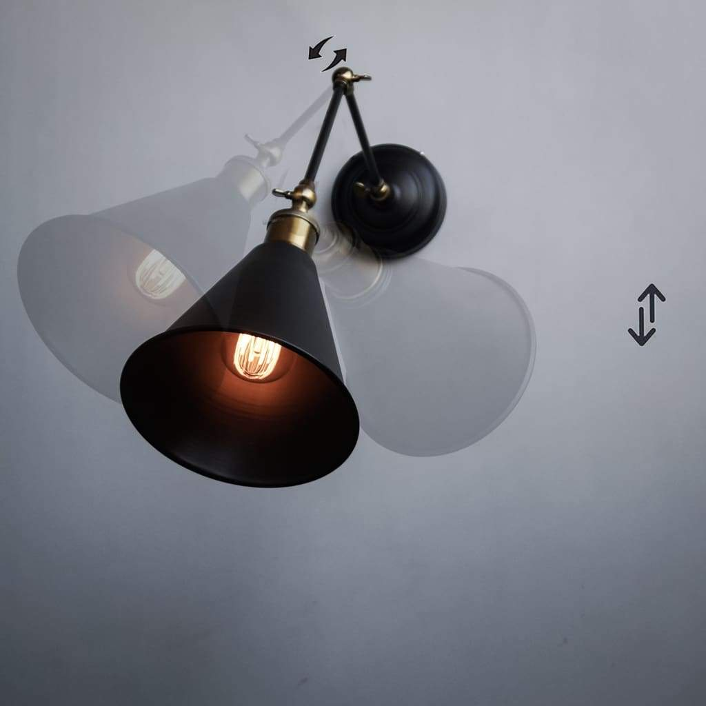 FSW207 Scandinavian Lamp Retro Wall Light Fixture
