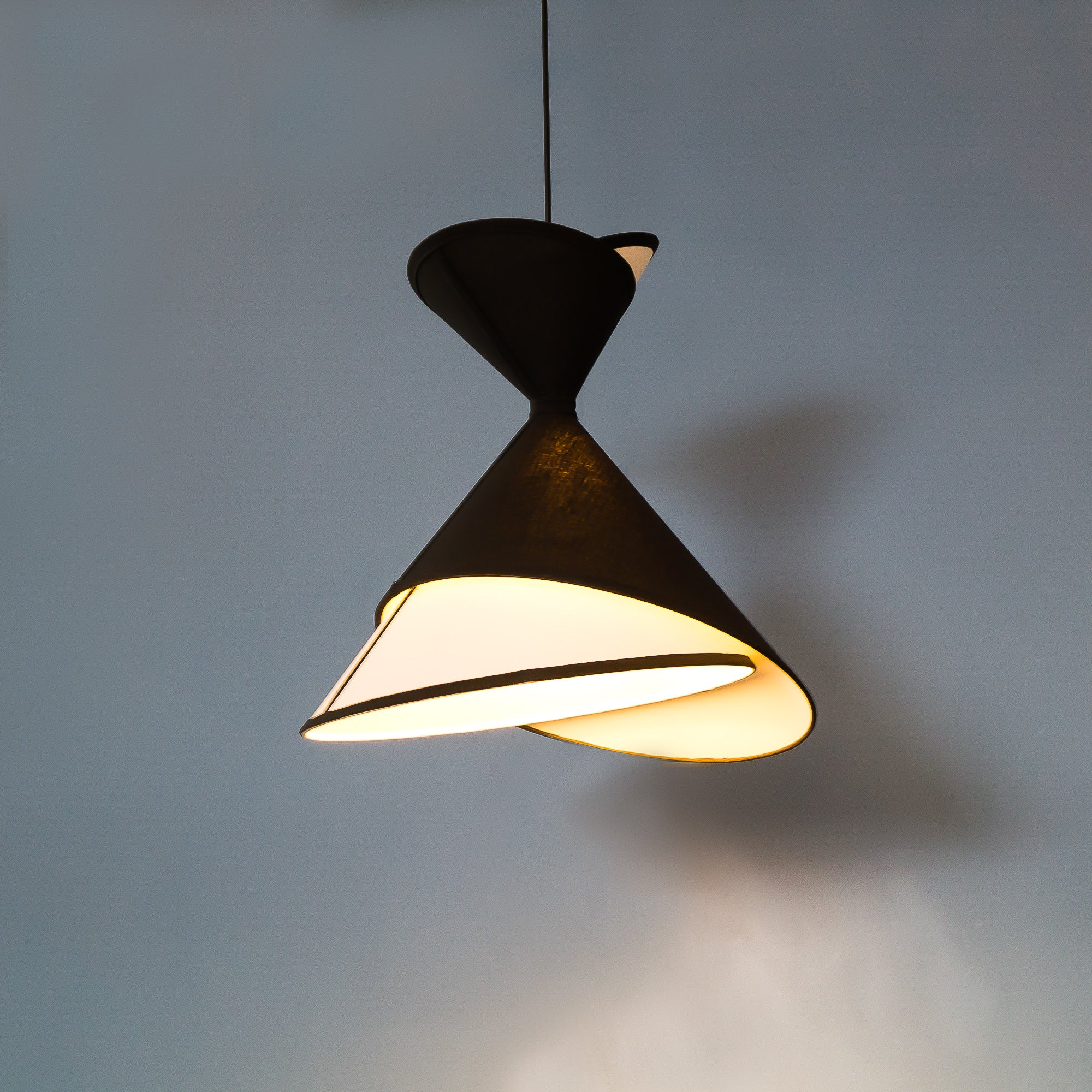 A-Line Pendant Light - The Black Steel