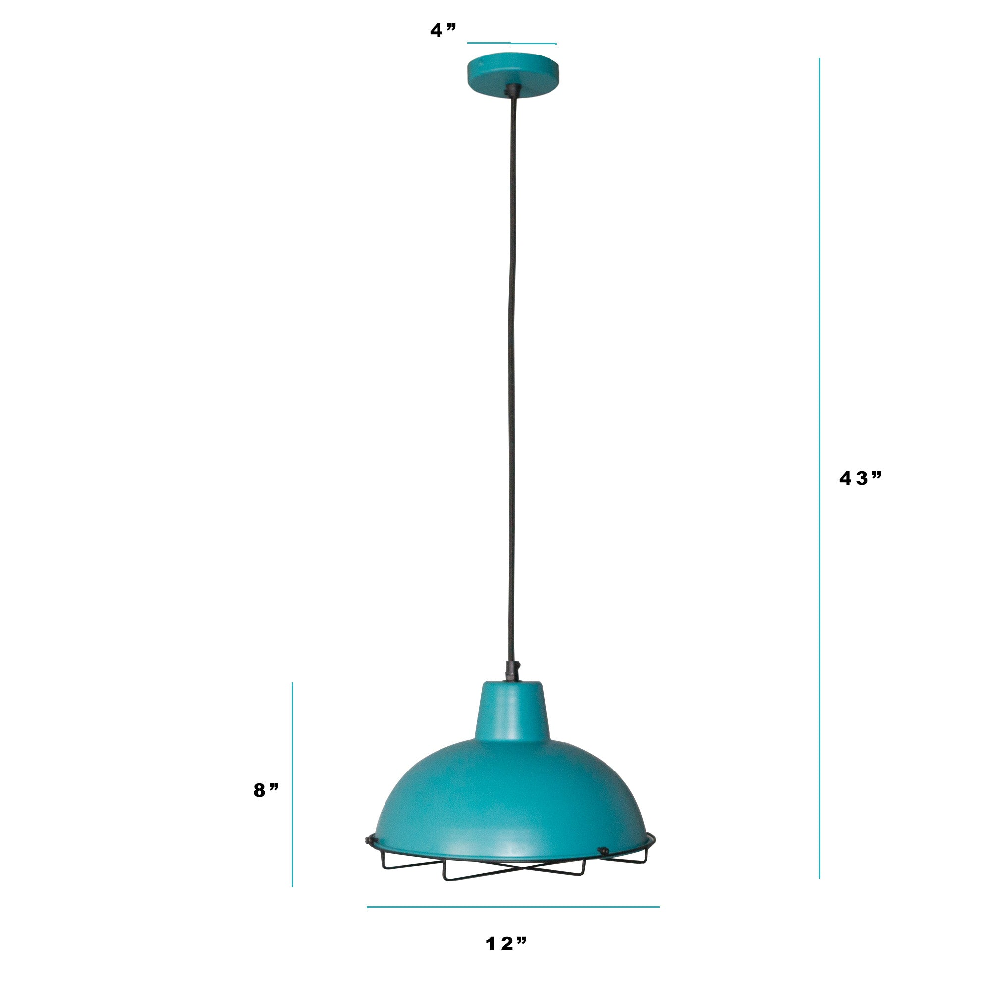 blue hanging lamps online