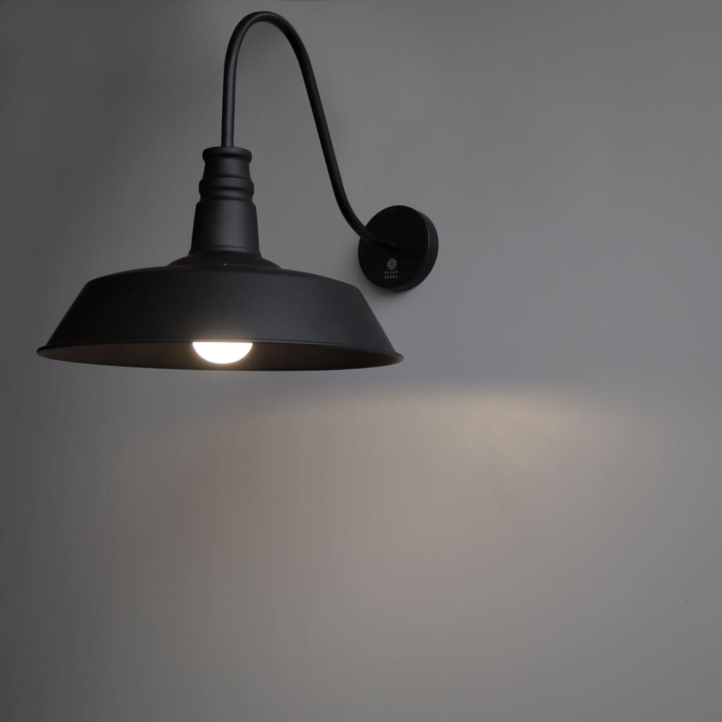 CWS211 Wall Lamp Black Rustic Interior Design Idea