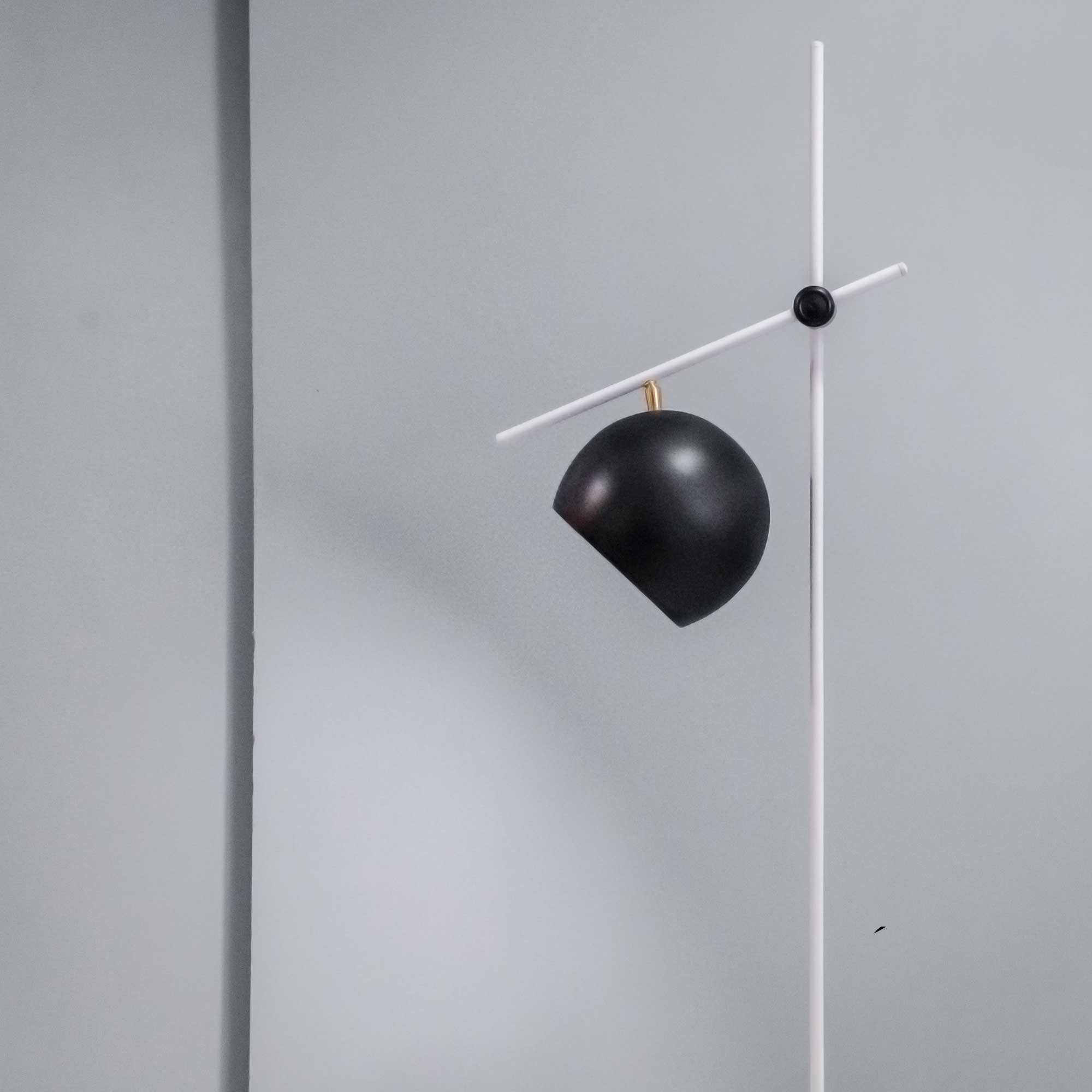 Chester Black And White Contemporary Floor Lamps Online