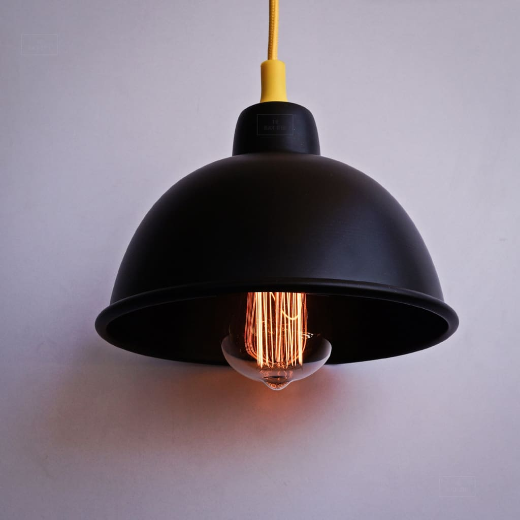 Delphic Dark Classic 1917 Industrial Pendant Lighting