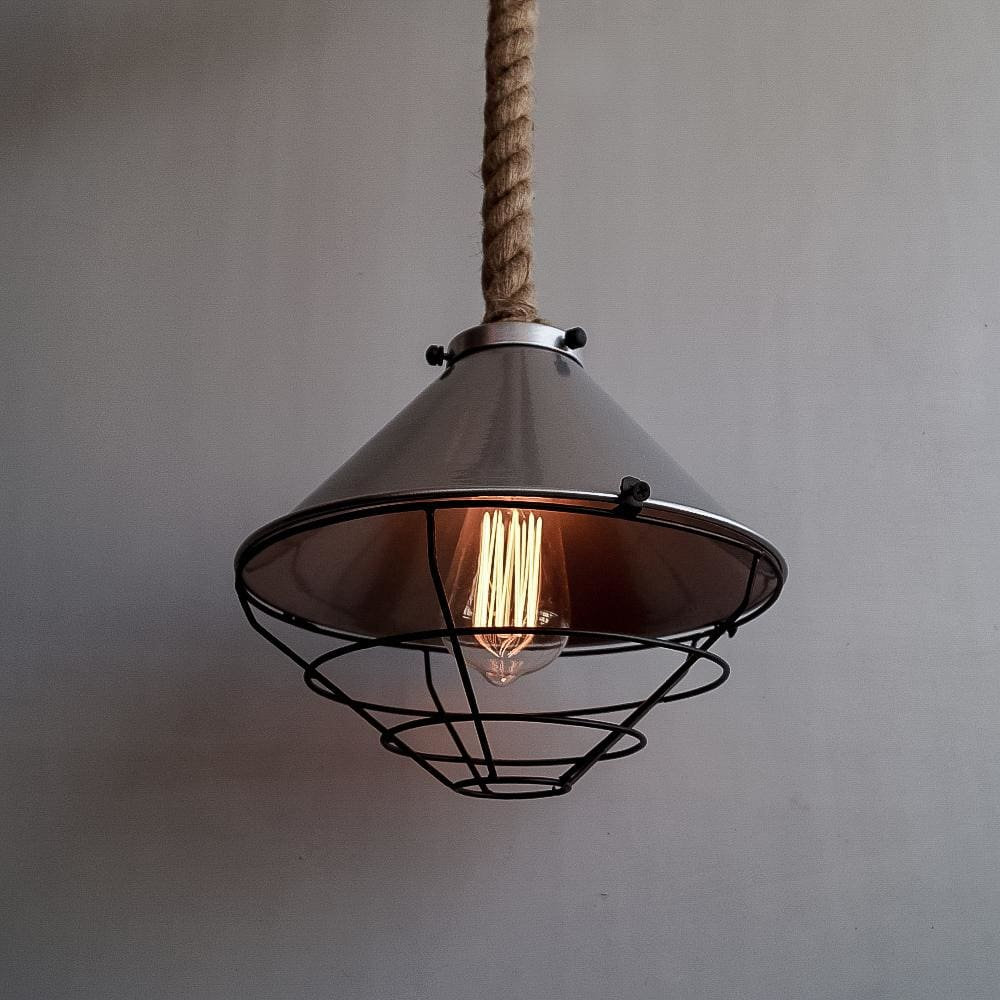 Fairfield Ash Grey Pendant Light Fixture