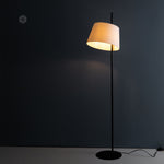Scandinavian design metal floor lamp