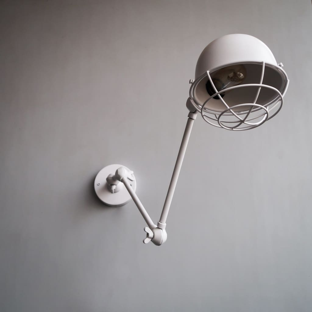 FSW206 Industrial Retro Vintage Swing-Arm Wall Sconce