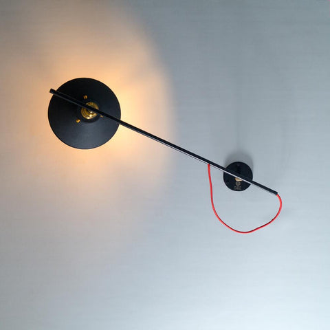 FSW202 Bedroom Wall Lamp - The Black Steel