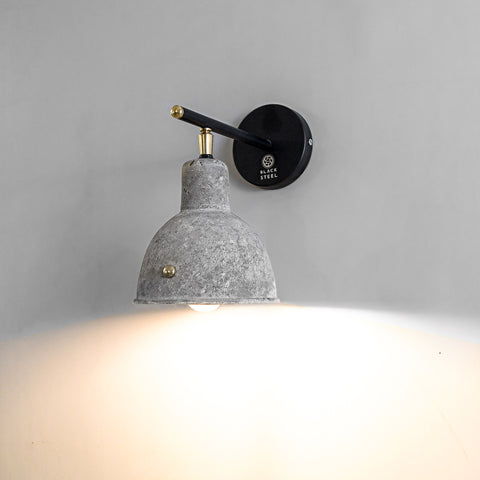 concrete wall lamps online theblacksteel grey lampshades Indian lamps customized