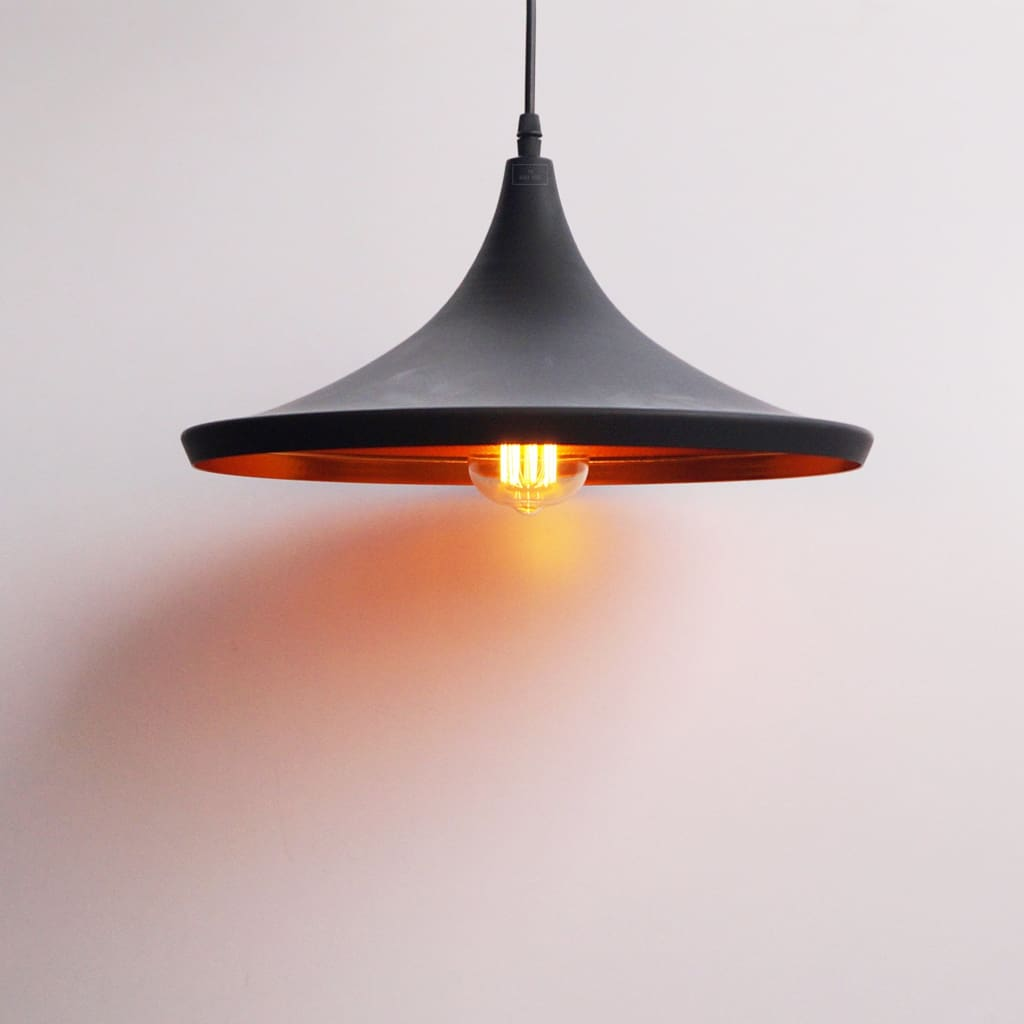 Norwegian Flat Cone Industrial Ceiling Lamp